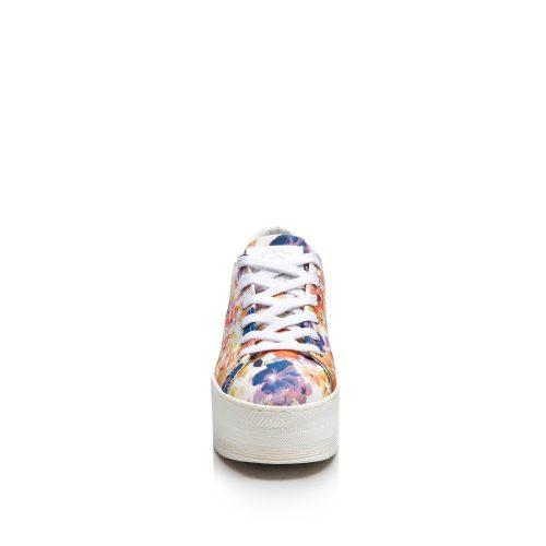 Grumman Sante Γυναικεία Sneakers Λευκό Floral 86021