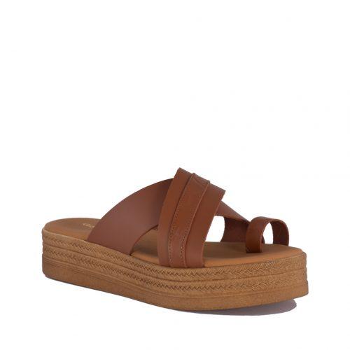 Kalogeropoulos Shoes Γυναικεία Παντόφλα 122-03-21