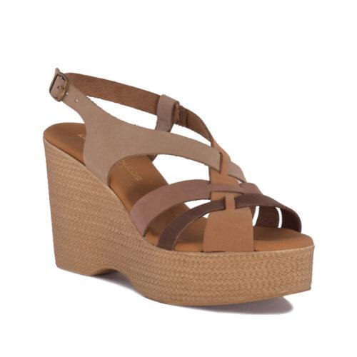 Kalogeropoulos Shoes Γυναικείες Πλατφόρμες 75-09