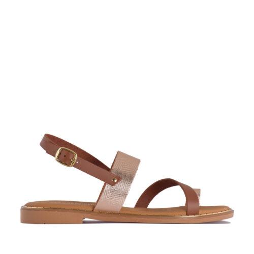 Kalogeropoulos Shoes Γυναικεία Σανδάλια 159-02-1