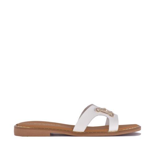 Kalogeropoulos Shoes Γυναικείες Παντόφλες H-02-1