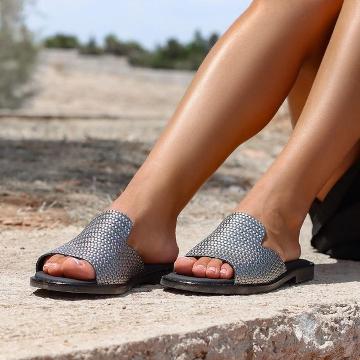 Kalogeropoulos Shoes Γυναικεία Παντόφλα 50-01-1